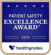 Healthgrades Patient Safety Excellence Award 2019